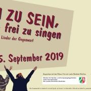 Frei zu sein, heißt, frei zu singen (Workshop, 2019)